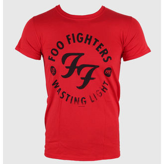 Herren T-Shirt Foo Fighters - Wasting Time Red - LIVE NATION, LIVE NATION, Foo Fighters