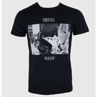 Herren T-Shirt Nirvana - Bleach - LIVE NATION, LIVE NATION, Nirvana