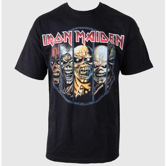 Herren T-Shirt Iron Maiden - Eddie Candle - IMTEE02MB02, ROCK OFF, Iron Maiden