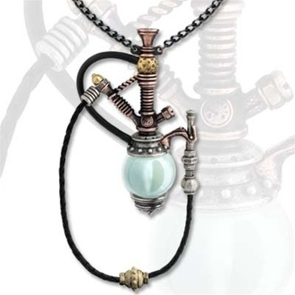 Halskette Holmes-Baker Patent Kinetic Nargile - Alchemy Gothic, ALCHEMY GOTHIC