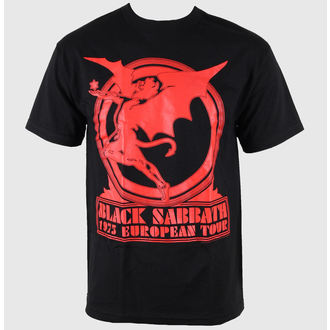 Herren T-Shirt Black Sabbath - Europe 75 Tour - BRAVADO USA, BRAVADO, Black Sabbath