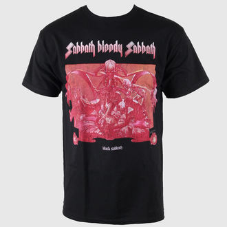 Herren T-Shirt Black Sabbath - Bloody Sabbath - Black - BRAVADO USA, BRAVADO, Black Sabbath