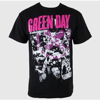 Herren T-Shirt Green Day - His Story - Blk - BRAVADO USA