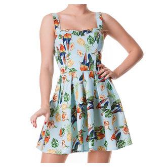 Damen Kleid  HELL BUNNY - Becky - Blue