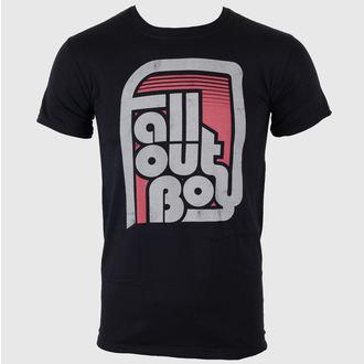 Herren T-Shirt Fall Out Boy - Retro Black - LIVE NATION, LIVE NATION, Fall Out Boy