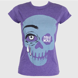 Damen T-Shirt  Paramore - Cry A Little Purple - LIVE NATION, LIVE NATION, Paramore