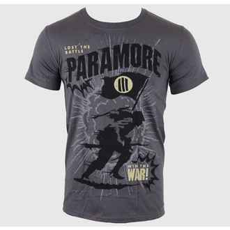 Herren T-Shirt Paramore - Minifield Charcoal - LIVE NATION, LIVE NATION, Paramore