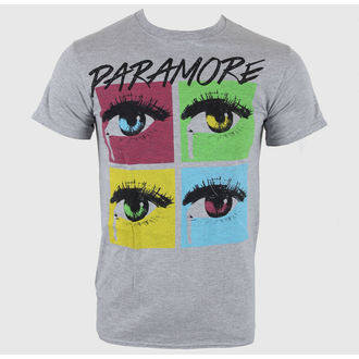 Herren T-Shirt Paramore - Pop Tear SportS Grey - LIVE NATION, LIVE NATION, Paramore