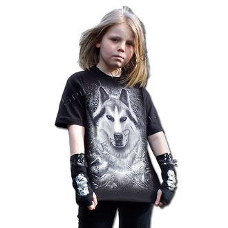 Kinder T-Shirt  SPIRAL - White Wolf, SPIRAL