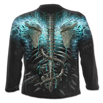Herren Longsleeve SPIRAL - Flaming Spine
