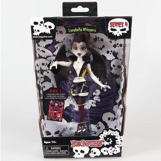 Figur Goth Silver Spring Fashion Doll Lunabella - Purple