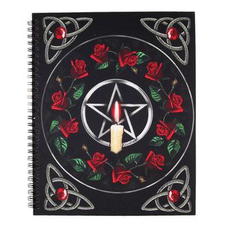 Notizblock Pentagram Rose