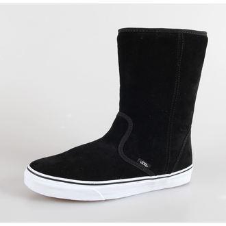 Schuhe VANS - U SLIP-ON Boot - (Suede) black, VANS