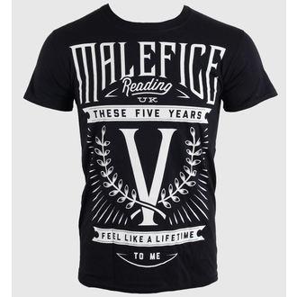 Herren T-Shirt Malefice - Five Years - LIVE NATION, LIVE NATION, Malefice