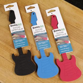 Schaber Guitar Baking Spatula - Gama Go, Gama Go