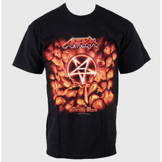 Herren T-Shirt Anthrax - Worship Music - EMI, ROCK OFF, Anthrax