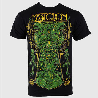 Herren T-Shirt Mastodon - Devil (on black) - EMI, ROCK OFF, Mastodon
