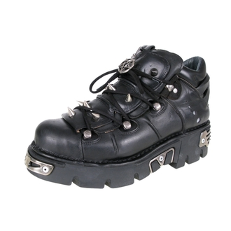 Punk Boots NEW ROCK Prick Shoes (110-S1) schwarz, NEW ROCK