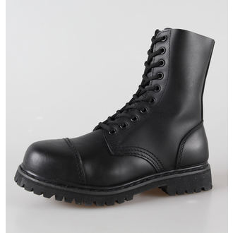 Schuhe Leder 10-Loch BRANDIT - Phantom Black