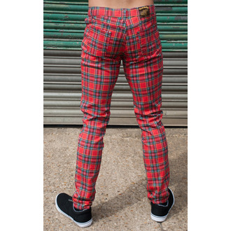 (unisex) Hose  3RDAND56th - Tartan Skinny Jeans - Ud Tartan - JM1106