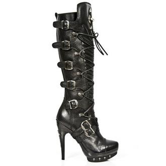 Schuhe NEW ROCK - PUNK062-S1 - NOMADA NEGRO