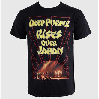 Herren T-Shirt Deep Purple - Rises Over Japan - PLASTIC HEAD, PLASTIC HEAD, Deep Purple