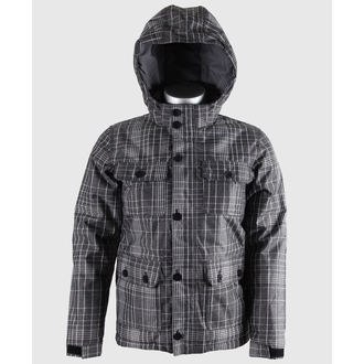 Winterjacke Kinder VANS - Mixter II Boys - Black/New Charcoal Plaid - VQO8960