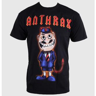 Herren T-Shirt Anthrax - TNT Cover - ROCK OFF, ROCK OFF, Anthrax