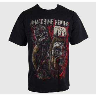 Herren T-Shirt Machine Head - Goliath Red - ROCK OFF, ROCK OFF, Machine Head