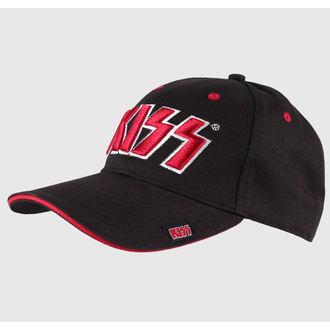 Cap Kiss - Red on White Logo - ROCK OFF - KISSCAP03