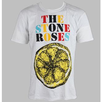 Herren T-Shirt Stone Roses - Logo Lemon Multicolour - ROCK OFF, ROCK OFF, Stone Roses