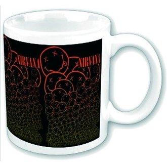 Keramiktasse  Nirvana - Cascading Smileys - ROCK OFF, ROCK OFF, Nirvana