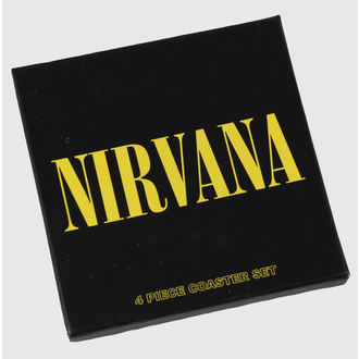 Bieruntersetzer Nirvana - Coaster Set - ROCK OFF, ROCK OFF, Nirvana