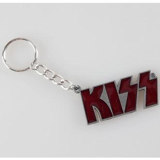 Schlüsselanhänger Kiss - Red Logo - CDV, C&D VISIONARY, Kiss