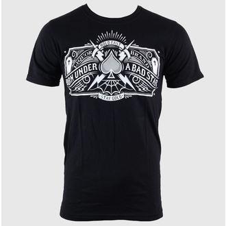 Herren T-Shirt LIQUOR BRAND - Bad Star - Logo - Black, LIQUOR BRAND