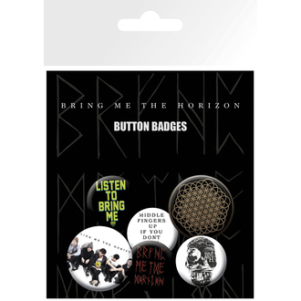 Button Badge Set Bring Me The Horizon - Sempitern, GB posters, Bring Me The Horizon