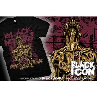 Herren T-Shirt BLACK ICON - Suicide - Black, BLACK ICON