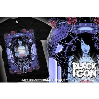 Herren T-Shirt BLACK ICON - Maiden - Black, BLACK ICON