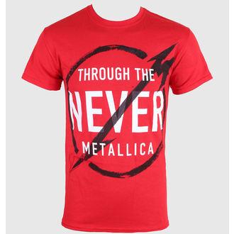 Herren T-Shirt Metalllica - Never - LIVE NATION - 0390