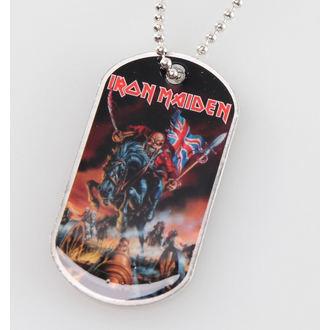 Dog Tag Iron Maiden - Maiden England - RAZAMATAZ, RAZAMATAZ, Iron Maiden