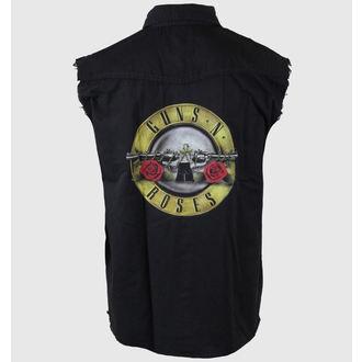 Herren Weste Guns N' Roses - Bullet Logo - RAZAMATAZ, RAZAMATAZ, Guns N' Roses