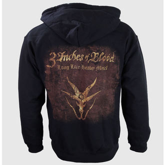 Herren Hoodie  3 Inches Of Blood - Long Live Heavy Metall - RAZAMATAZ, RAZAMATAZ, 3 Inches of Blood