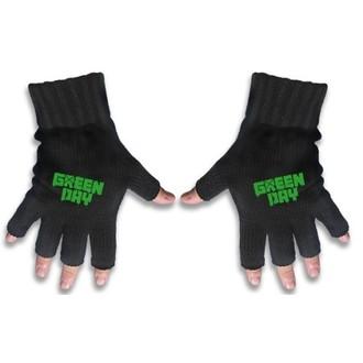Halbfinger Handschuh Green Day - Logo - RAZAMATAZ, RAZAMATAZ, Green Day