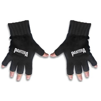 Halbfinger Handschuh Pantera - Logo - RAZAMATAZ - FG042