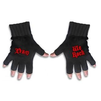 Halbfinger Handschuh Dio - Logo&We Rock - RAZAMATAZ, RAZAMATAZ, Dio