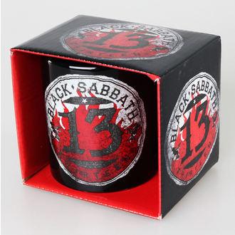 Keramiktasse  Black Sabbath - 13 Flame Circle - ROCK OFF, ROCK OFF, Black Sabbath