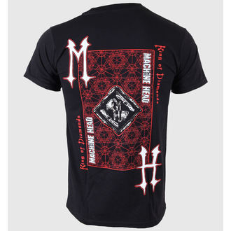 Herren T-Shirt   Machine Head - King Of Diamonds - ROCK OFF, ROCK OFF, Machine Head
