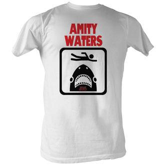 Herren T-Shirt Jaws (Der weiße Hai)  - Amity Waters - AC
