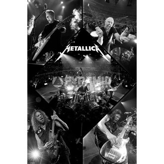 Poster Metalllica - Live - PYRAMID POSTERS, PYRAMID POSTERS, Metallica