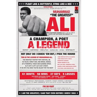Poster Muhammad Ali - Vintage - Corbis - PYRAMID POSTERS - PP32979